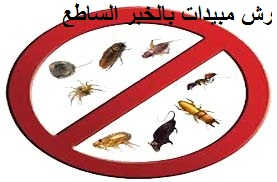 رش مبيدات بالخبر